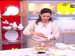 Choumicha - Recette pour maigrir : Salade Mixte aux fruits et légume