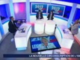 Débat entre Vincent Chriqui et Joëlle Huillier sur France 3 Alpes le 13 juin 2012