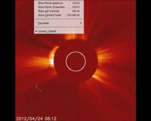 Lasco C2 – Unusual Object. 24 April, 2012