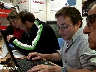 Soirée électorale du 1er tour des législatives sur la 6ème circonscription du Val d'Oise