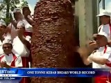 Plus gros Kebab du monde (1 tonne)