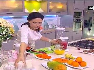Choumicha - Recette Pour Maigrir : Jus et Cocktail aux fruits et légume