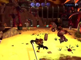 Gold Trailer de Ratchet & Clank : Opération Destruction