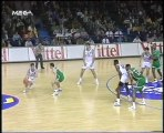 PAOK BASKET Cliff Levingston incredible dunk.