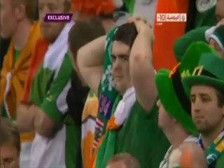 الهدف الثاني لاسبانيا أمام ايرلندا