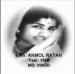 Taare wohi hain chaand wohi hai (Anmol Ratan)(1950)