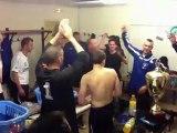 Finale Coupe de l'Yonne Vinneuf Courlon Vs Héry Après match et cri de guerre
