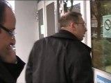 Avec François Hollande, à France 3 Rhône-Alpes