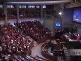 Reportage lors de l'intervention du Président au CESE (Conseil Economique Social et Environnemental)