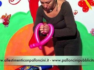 Balloon Art: come realizzare delle colombine con i palloncini modellabili