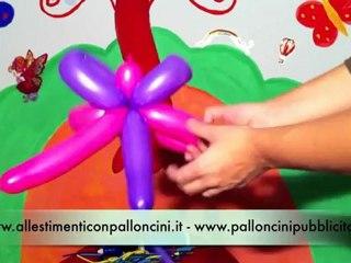 Balloon Art: come realizzare una farfalla con i palloncini modellabili