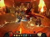 Diablo 3 - act 4 Inferno - Diablo Inferno VS Barbarian & Monk
