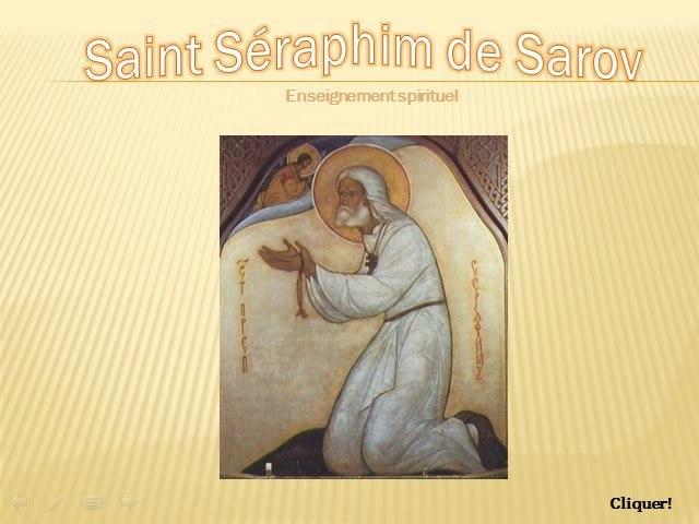 Saint Séraphim de Sarov