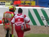 Moto GP 2012 / Silvestone : Rossi Huge crash