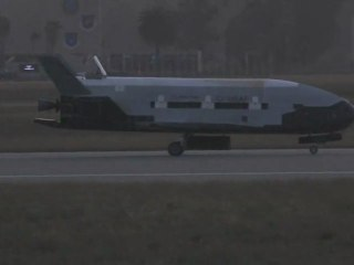 X-37B Lands at Vandenberg Air Force Base After 2nd Mission