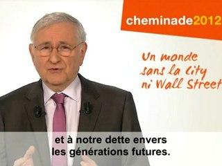 Espace et développement de l'Afrique / clip officiel présidentiel Cheminade 2012