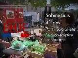Sabine Buis - député PS - 3ème circo de l'Ardèche