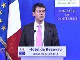 Intervention de Manuel Valls pour le second tour des élections législatives 2012