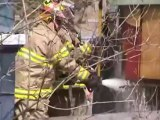 Firefighters responding to Fire inside house on Marjorie