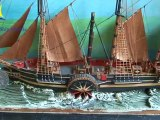 Model Ships, Cruiser Yacht, Model Boats, Wood Sailboat Kit for Sale in UK