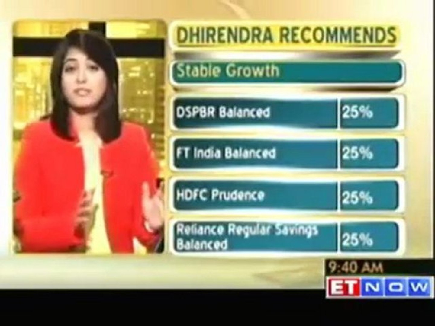 Dhirendra's suggestions for a 41 year old regular investor