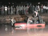 Mud Wrestling Girls getting pulled out in Jeep Red Nek style 57