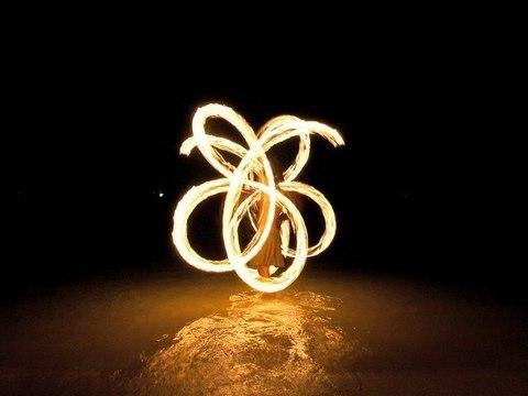 Franscesca' fire dance