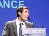 Grande soirée élections législatives 2012 - UMP Paris (extrait de l'intervention de Benjamin Lancar)