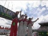 24 HEURES DU MANS AUTOMOBILE 2012 - Le podium - Dimanche 17 juin 2012