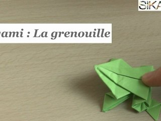 Origami Jumping Frog Instructions: www.Origami-Fun.com - YouTube | 240x320