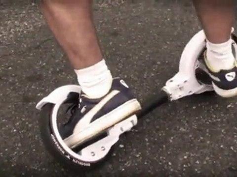 Démonstration Freerider SkateCycle