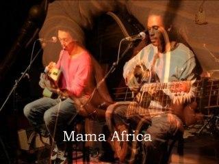 SAÏ - Mama Africa (live 2012)