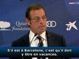 "Rosell : ""Drogba à Barcelone en vacances"""