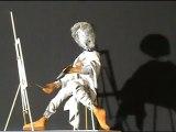 L'artiste peintre - automate - création Atelier du Clos de Moines - www.rpcom.com