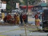 Caracas, El Observador, martes 19 de junio de 2012, escape de gas en la avenida Nueva Granada, de Caracas