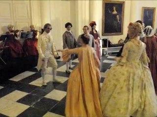bal et danse de salon au chateau d'hingene