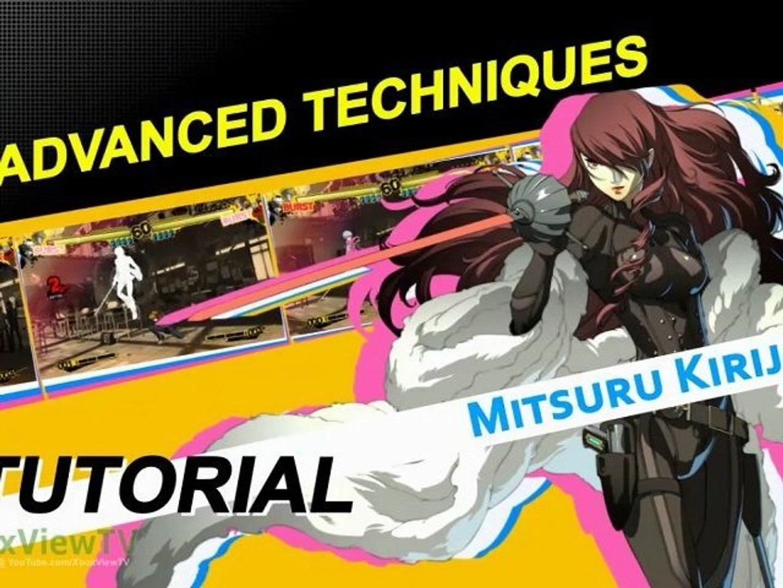 Persona 4 Arena - Tutorial #2: Advanced Techniques (2012) | HD