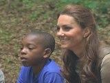 Kate Middleton Visits Children's Charity