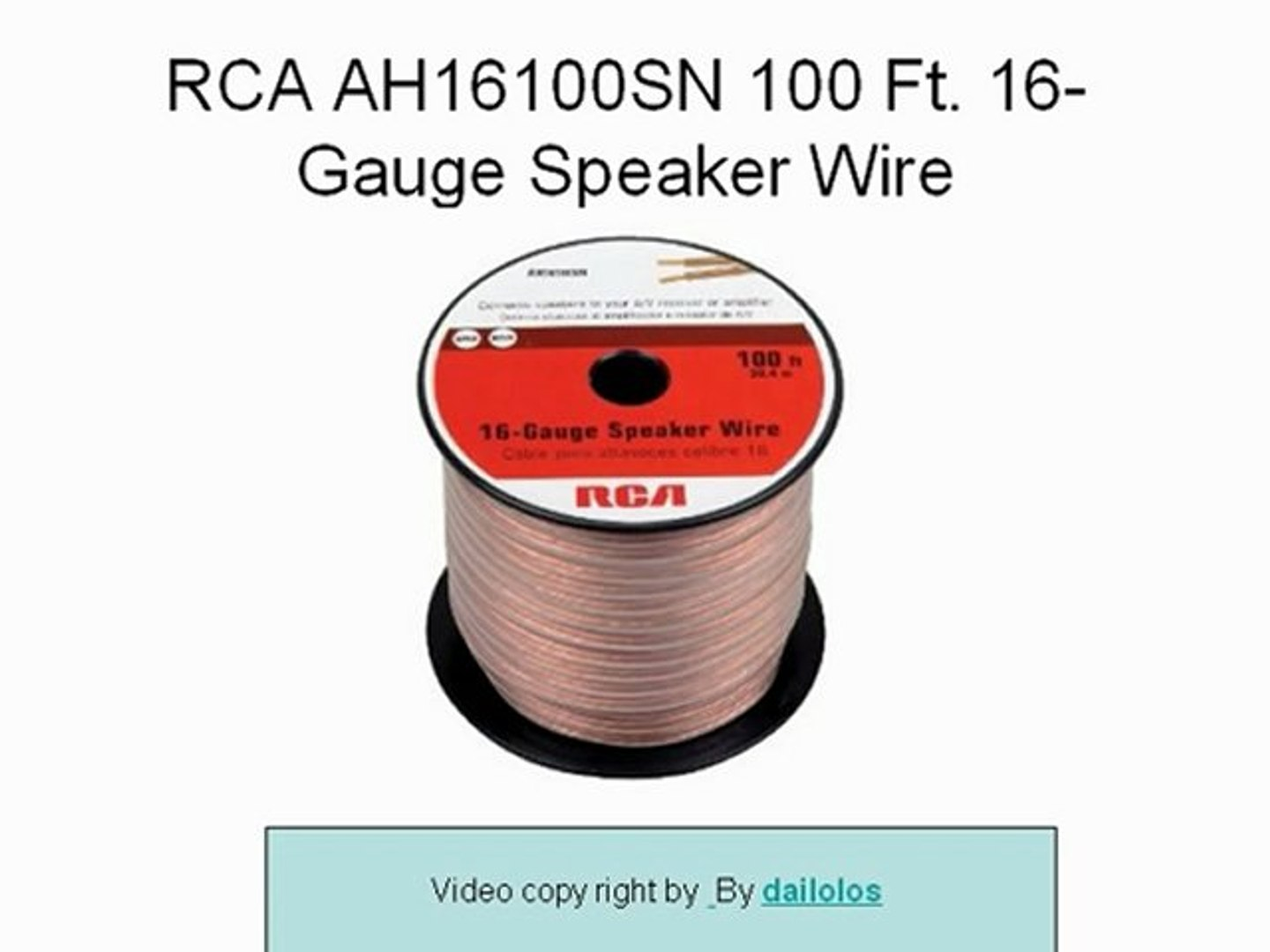 Car Home Audio Speaker Wire Transparent Clear Cable 12AWG 12//2 Gauge 250ft