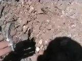 Syria فري برس حلب حيان اثار الدمار الذي خلفته القذائف الصاروخية19 6 2012 ج8 Aleppo