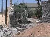 Syria فري برس حلب حيان اثار الدمار الذي خلفته القذائف الصاروخية19 6 2012 ج7 Aleppo