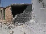 Syria فري برس حلب حيان اثار الدمار الذي خلفته القذائف الصاروخية19 6 2012 ج5 Aleppo
