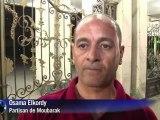 Egypte: des partisans de Moubarak devant un hôpital du Caire