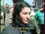 Maatoub Lounes rend hommage aux victimes des islamistes en Algérie.