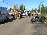Motorcycle VS Automobile Scoudouc NB