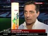 Paulo Futre 'Foi uma honra jogar neste grande clube que  o Benfica'