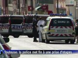 La police met fin à une prise d'otages à Toulouse