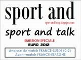 Sport and Talk - Emission 8 - Retour sur France-Suède et avant-match France-Espagne