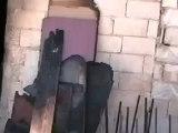 Syria فري برس حماه المحتلة الأربعين احد القذائف التي سقطت في الحي  19 6 2012 Hama