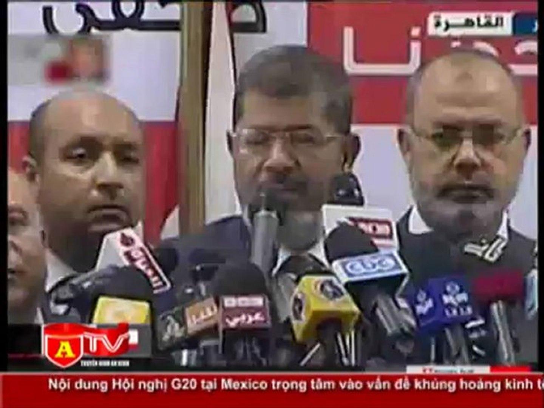ANTÐ - Bầu cử Tổng thống Ai Cập: Ông Morsi tuyên bố thắng cử